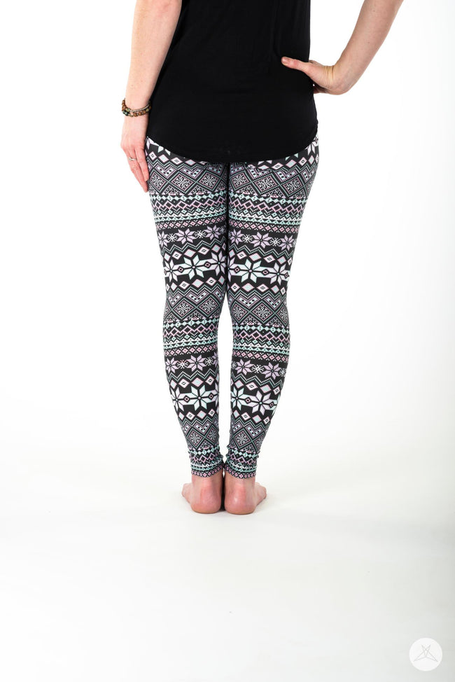 Snow Angel Petite leggings - SweetLegs