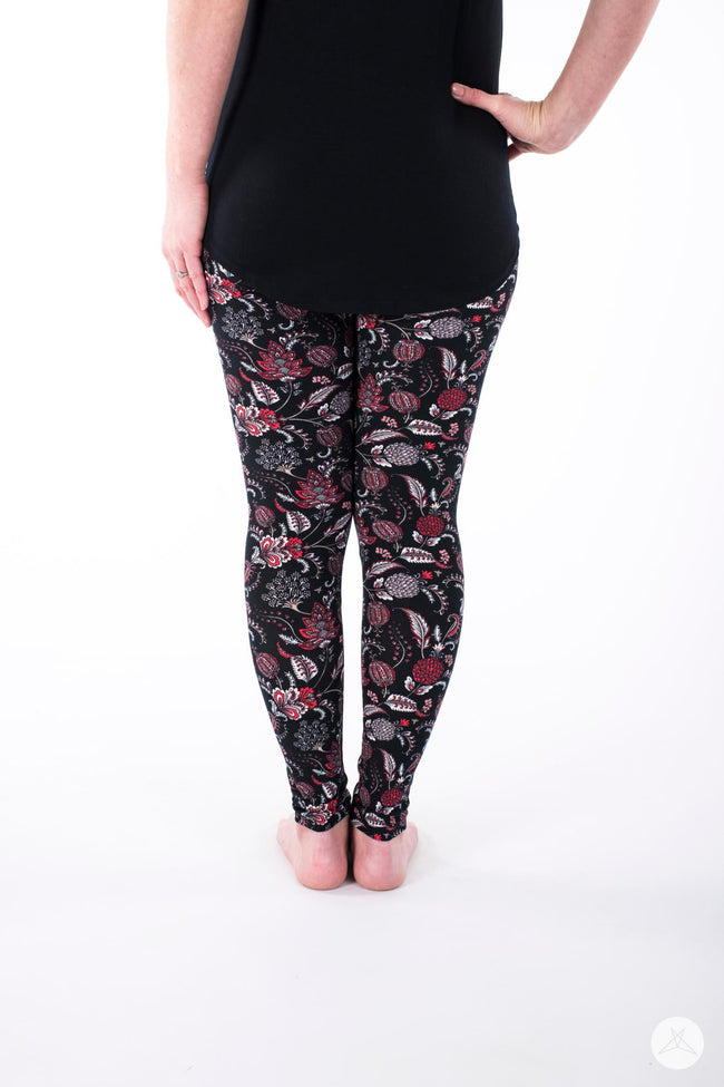 Flourish Petite leggings - SweetLegs