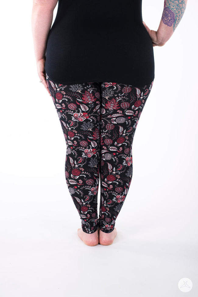 Flourish Plus leggings - SweetLegs