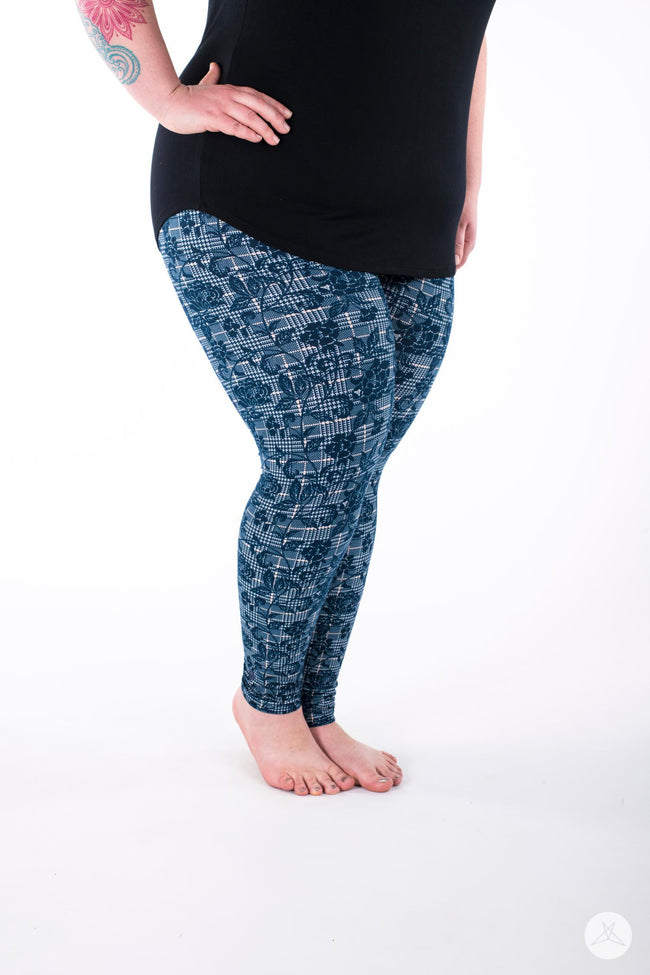 Casanova Plus leggings - SweetLegs