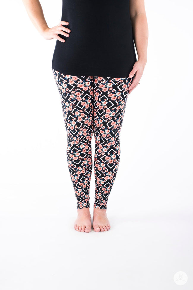 Miss Conduct leggings - SweetLegs