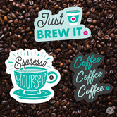 Coffee Lovers Sticker Pack