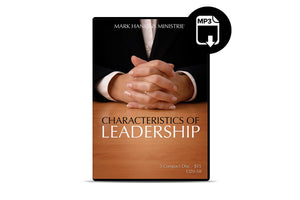 Characteristics of Leadership (MP3)