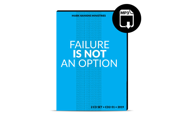 Failure Is Not An Option (MP3)