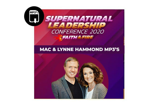 Pastors Mac and Lynne Hammond Sessions SLC 2020- MP3's