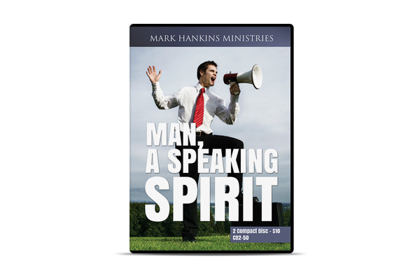 Man, A Speaking Spirit