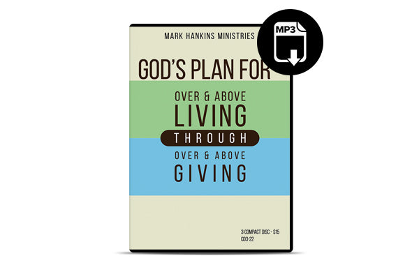 Over & Above Living Through Over & Above Giving (MP3)