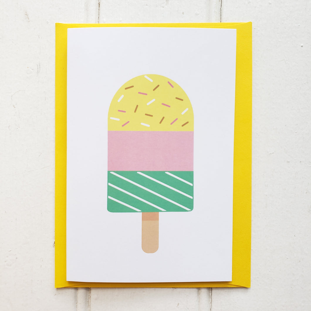 Carte Popsicle