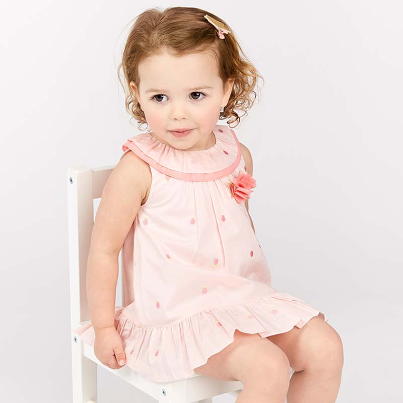 b25caac06ad87 [Easter summer baby girl pink dress] THE CHILDREN UNIVERSE ...