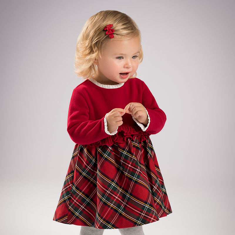 b61f062df034a Baby Girl Red Christmas Dress – THE CHILDREN UNIVERSE