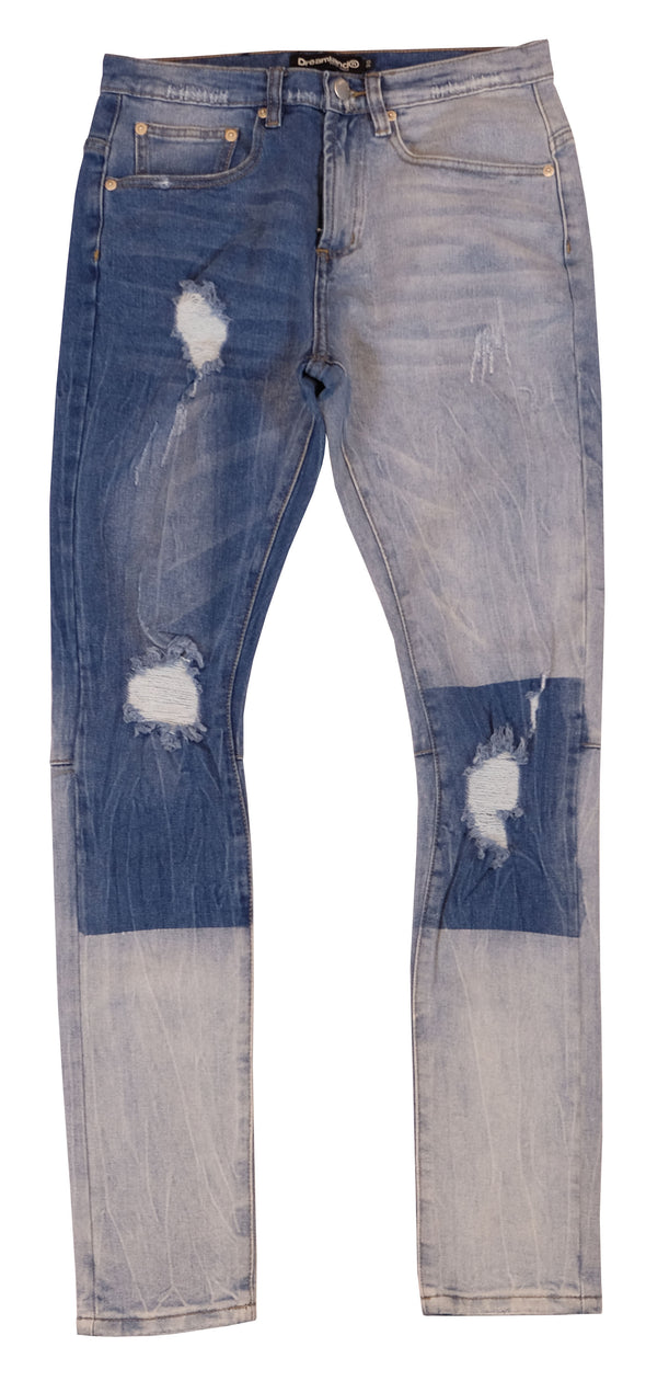 DREAMLAND Denim - Blue Block