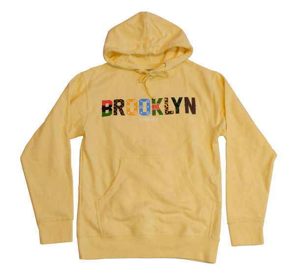 Brooklyn x Vinnies - Pullover- Light Yellow