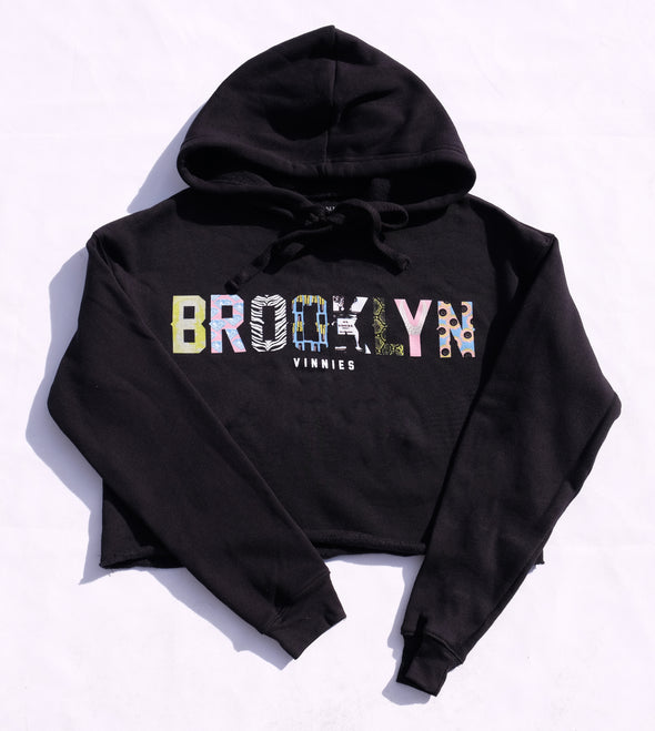 Brooklyn X Vinnies Women's (crop pullover)