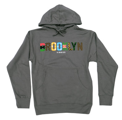 Brooklyn x Vinnies - Pullover- Charcoal