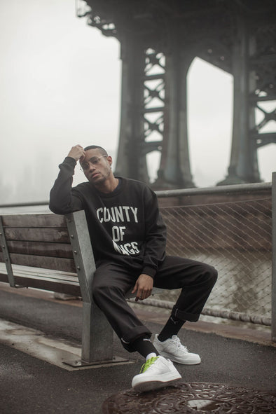 Paulies - County of Kings Crew Black