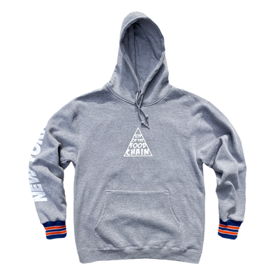 Copy of BWVS- Top OF the Food chain Hoodie -Heather Grey