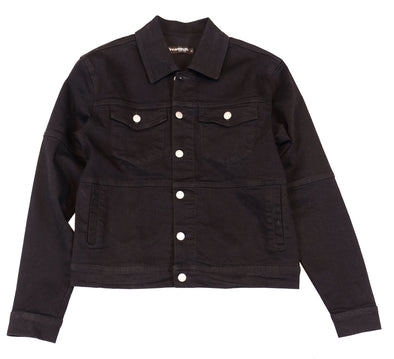DREAMLAND DENIM - Black Lines Denim Jacket