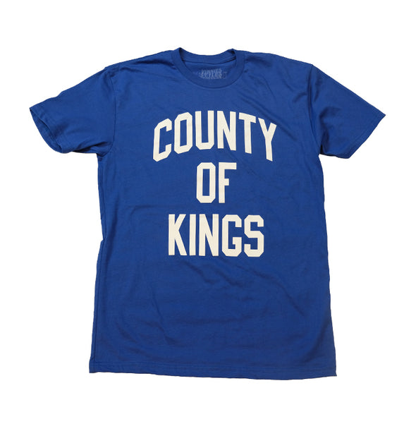 County Of Kings Tee - Royal Harbor Blue