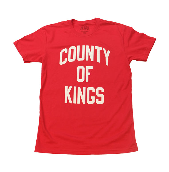 County Of Kings Tee - Red