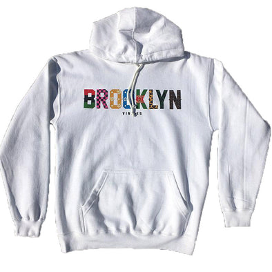 Brooklyn x Vinnies - Pullover- White