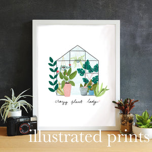 Illustrated Prints