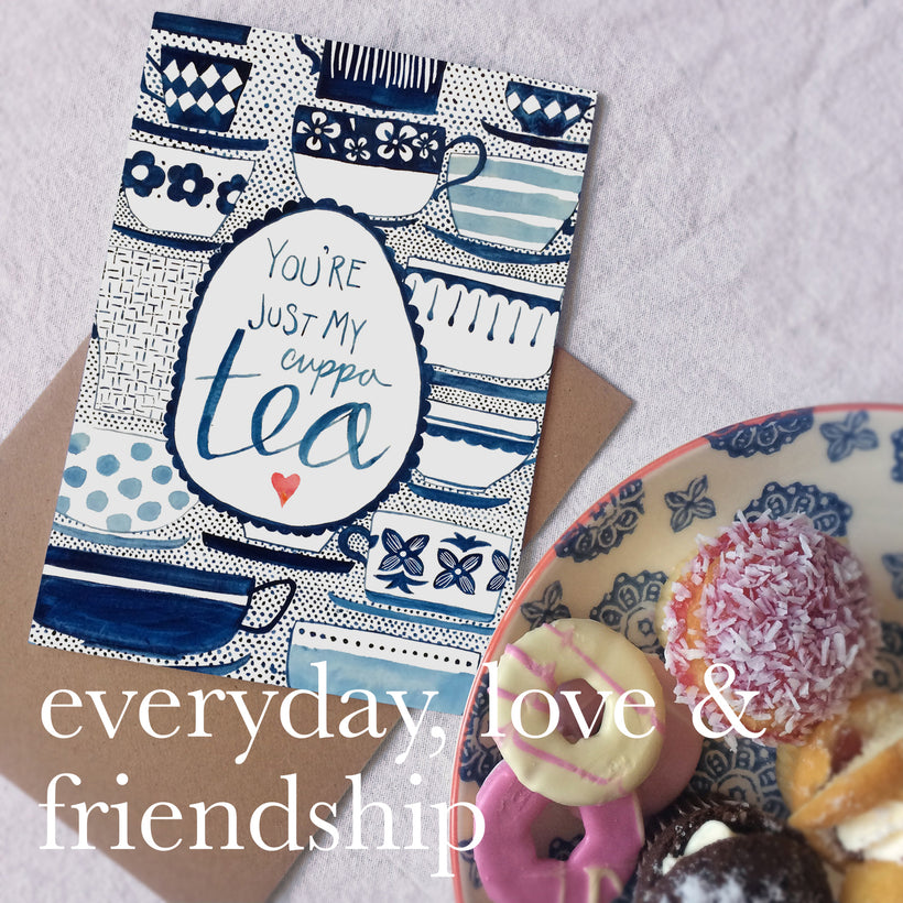 Everyday, Friendship and Love Cards