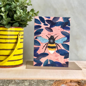 Bumblebee Greeting Notecard