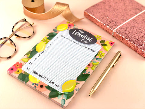 Lemonade List Notepad
