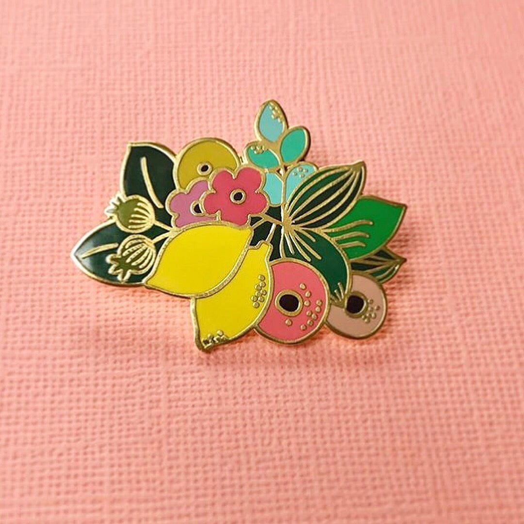 When life gives you lemons Luxury Enamel Pin