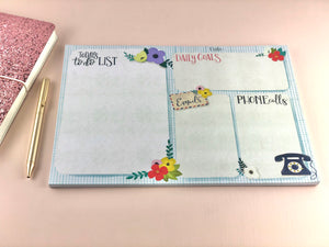 A4 Daily Planner Notepad