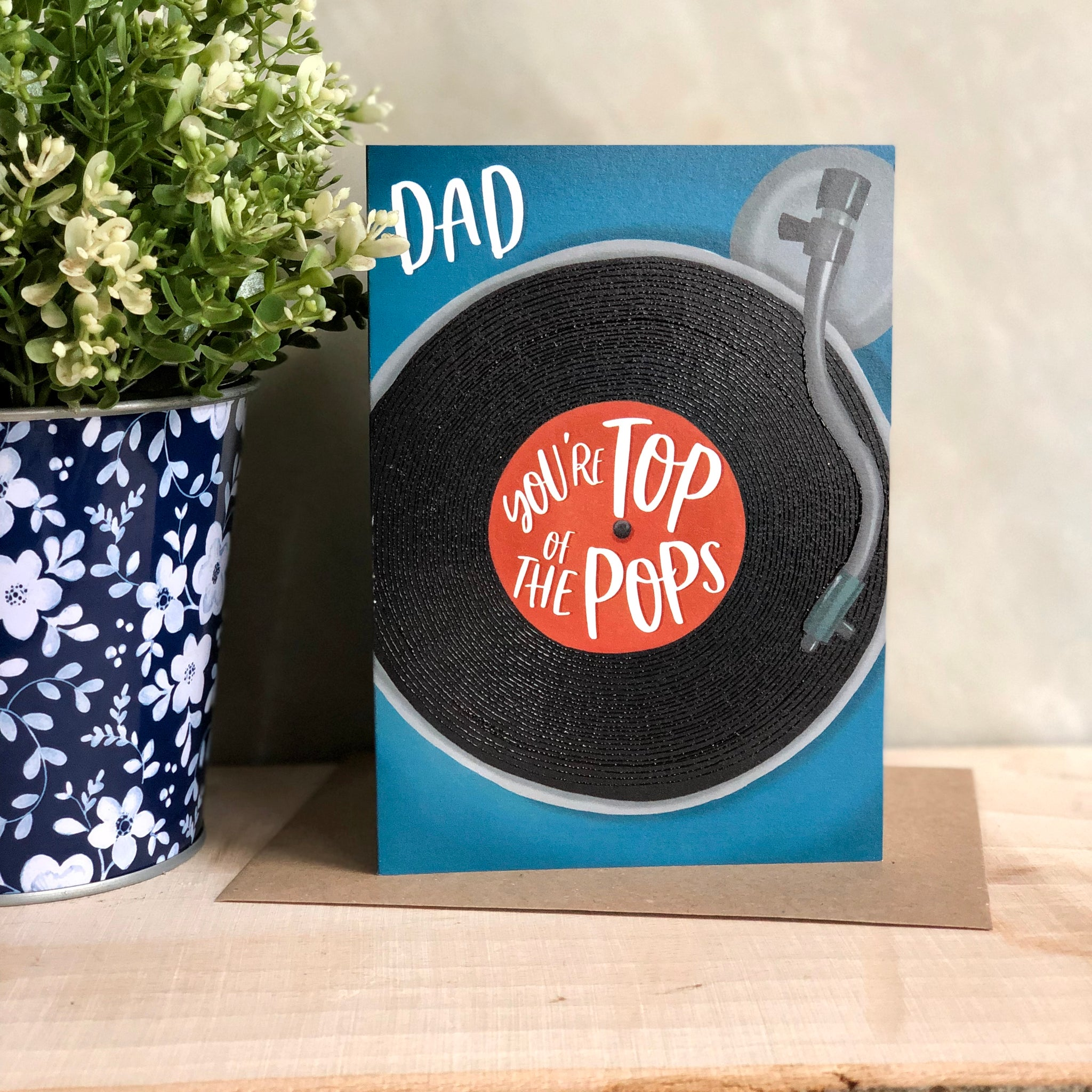 Top of the Pops Father's Day card