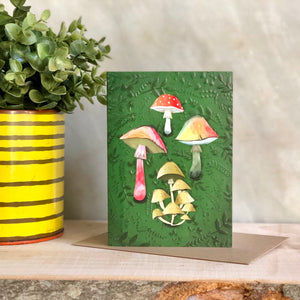 Fungi Greeting Notecard