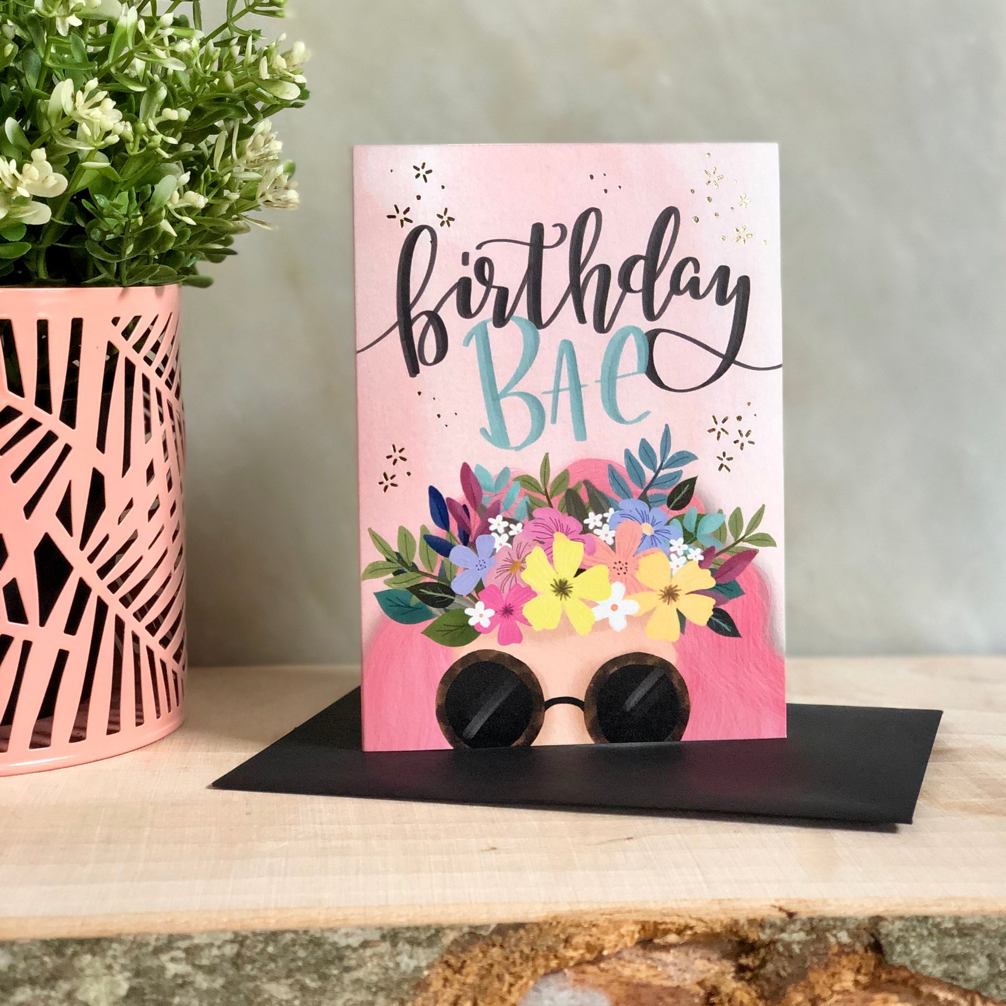 Birthday Bae Greeting Notecard
