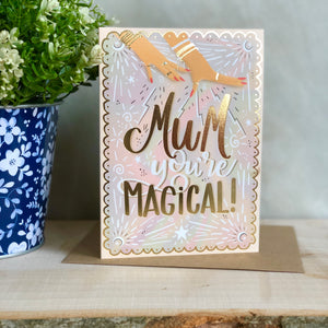 Magical Mum Mother's Day card