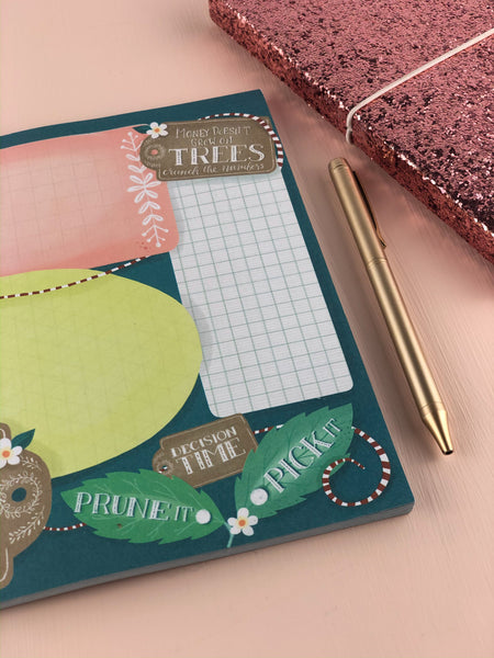 Plant the seed A4 Idea Planner and Notepad