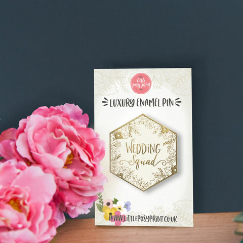 Wedding Squad Luxury Enamel Pin