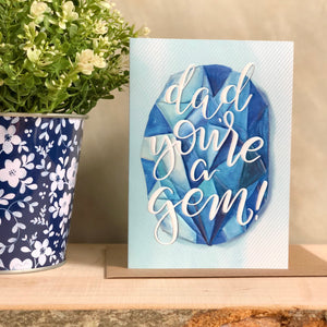 You're a Gem Father's Day card