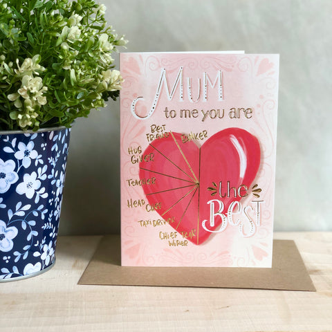 To me you are Mother's Day card