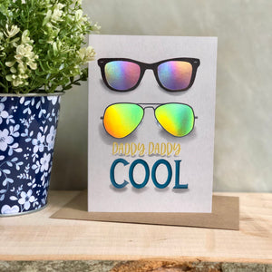 Daddy cool Father's Day card