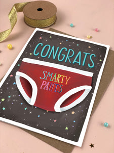 Congrats Smarty Pants Congratulations Card
