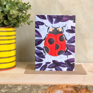 Ladybird Greeting Notecard