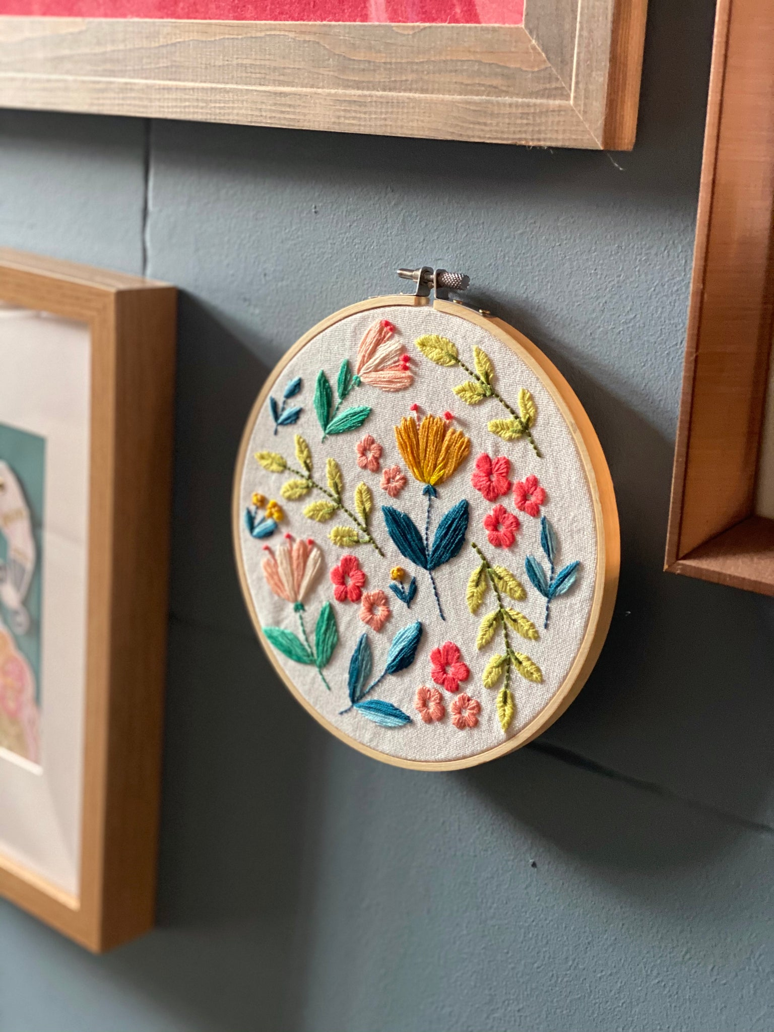 Citrus Blooms DIY Embroidery Kit