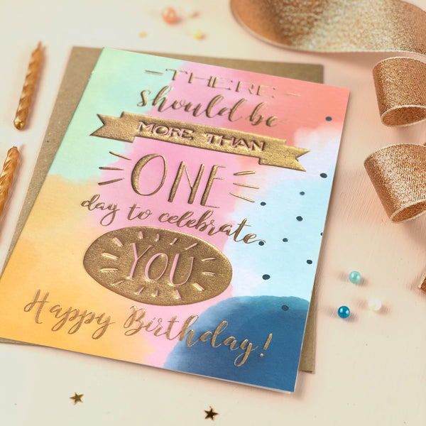Special Person Happy Birthday card