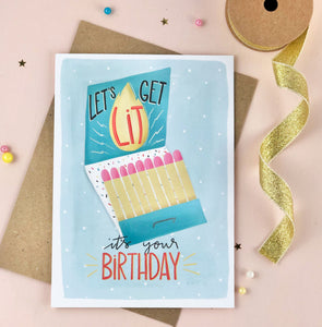 Have a Lit Birthday Card
