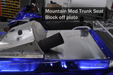 CR Nytro Block Off Plate - Mountain Mod Trunk Seat Block Off