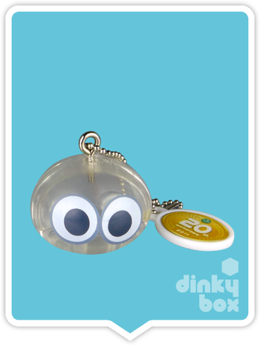 "OPEN GASHAPON BALL Takara Tomy A.R.T.S / Sega 20th Anniversary Puyo Puyo : 1"" Single Clear Puyo Mascot Charm - moosedinky"