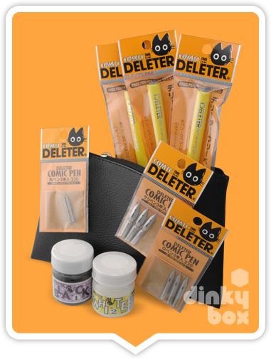 Deleter Japanese Manga Artist Kit (Essential)