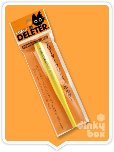 Deleter pen nib holder, simply insert any of the Deleter pen nibs, interchangeable from one nib to another