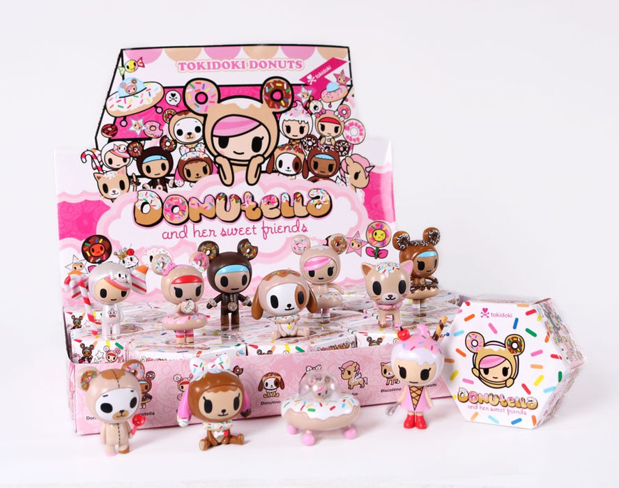"OPEN BOX Tokidoki Donutella S1 : 3"" Dolce mini figure (complete with all original packaging) - moosedinky"