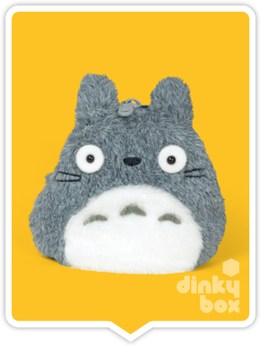 "LOOSE COIN PURSE Sun Arrow x Studio Ghibli : 3"" Studio Ghibli My Neighbour Totoro, very cute Totoro coin purse, ideal for your loose change + a coin or two for luck :) - moosedinky"